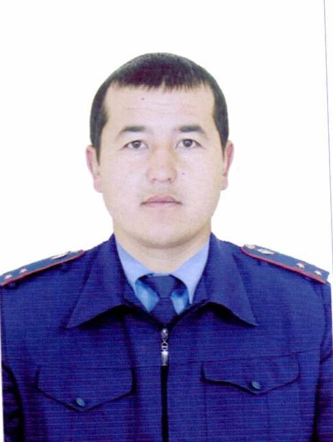 Манасов Руслан 2015-жылдын мыкты ички иштер кызматкери